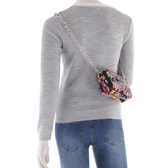 Versace Jeans Couture Umhängetasche Linea X DIS 2 allover eyelets