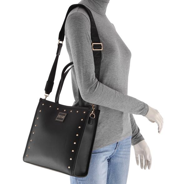 Versace Jeans Couture Kurzgrifftasche Linea E DIS 3 weiß