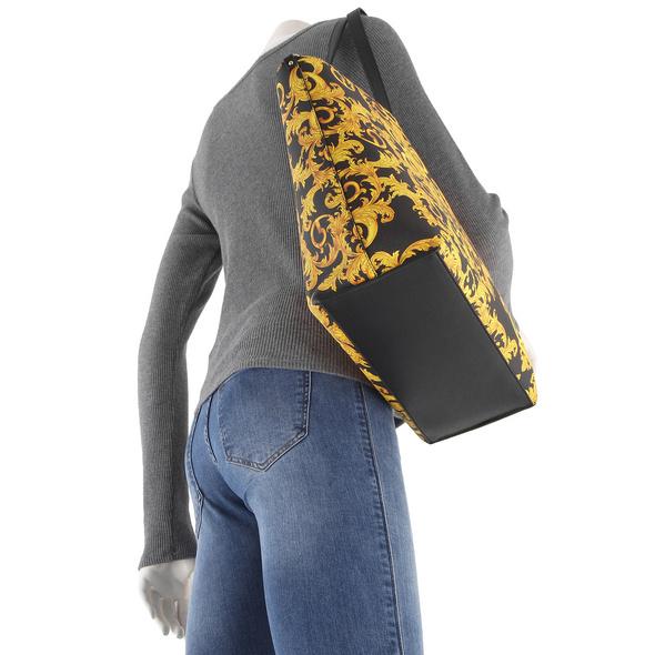 Versace Jeans Couture Shopper LINEA Z DIS. 1 logo print
