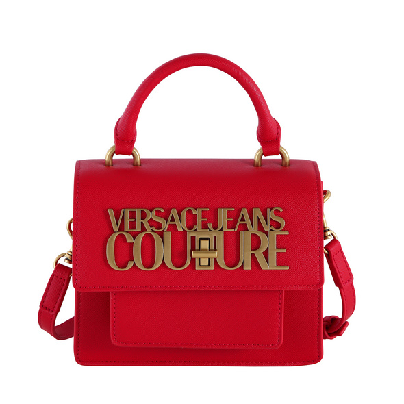 Versace Jeans Couture Kurzgriff Tasche Range L Logo Lock Sketch rosso