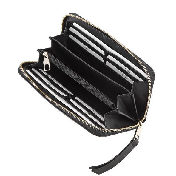 Versace Jeans Couture Portmonee Damen Linea B DIS 1 black