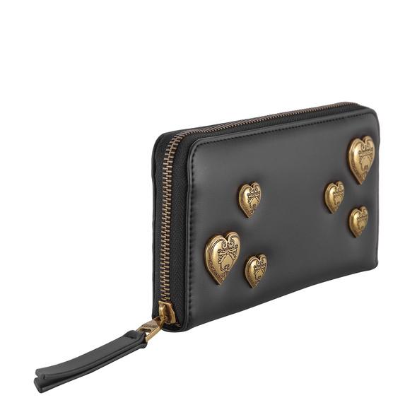 Versace Jeans Couture Langbörse Damen Linea O DIS 6 schwarz