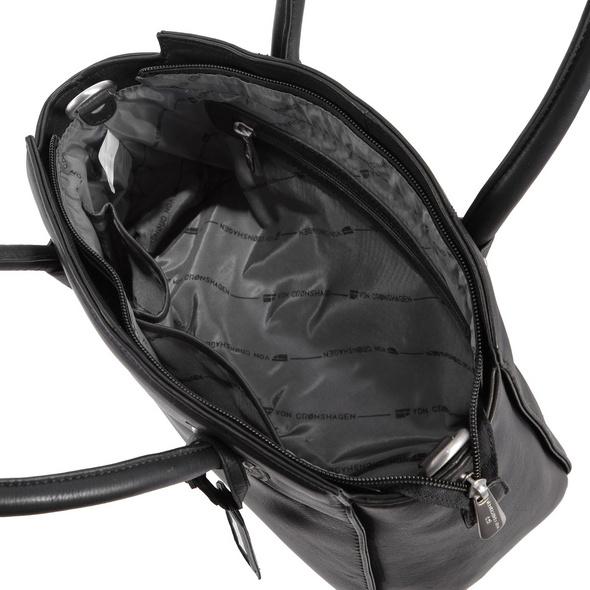 Von Cronshagen Kurzgrifftasche Egholm schwarz