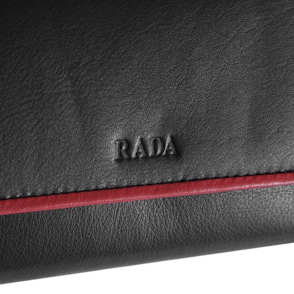 Rada Portmonee Damen Brüssel schwarz/rot