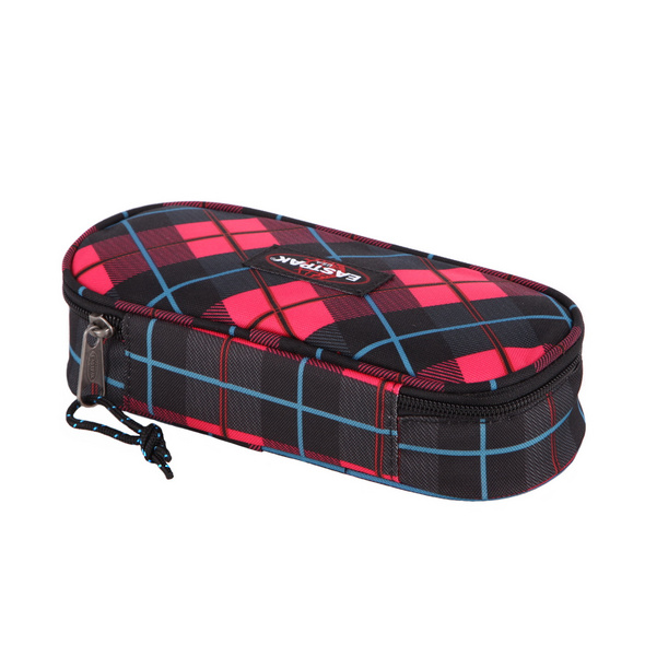 Eastpak Schlampermäppchen EK717 re check pink (04H)