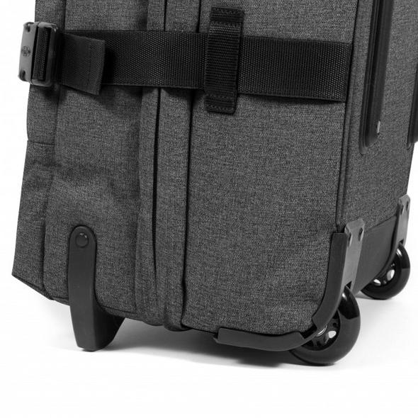 Eastpak Reisetasche mit Rollen Authentic Tranverz M 78l black denim