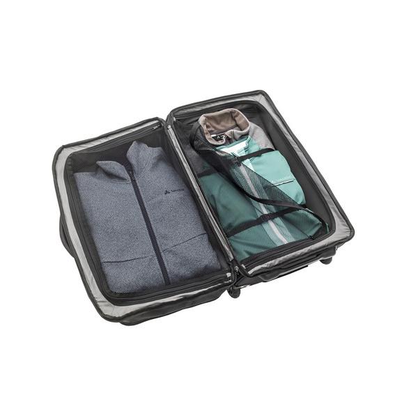 Vaude Reisetasche mit Rollen Rotuma 65l schwarz