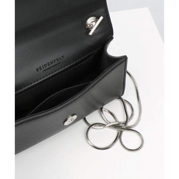 Seidenfelt Manufaktur Abendtasche Risor schwarz