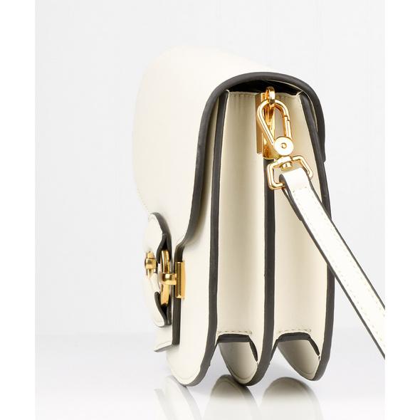 Seidenfelt Manufaktur Umhängetasche Mikkeli beige/gold