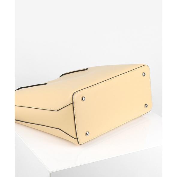 Seidenfelt Manufaktur Shopper Lyngdal sorbet yellow
