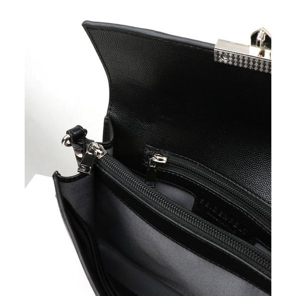 Seidenfelt Manufaktur Clutch Roros schwarz