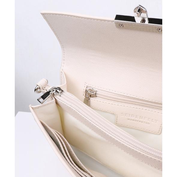 Seidenfelt Manufaktur Clutch Roros beige