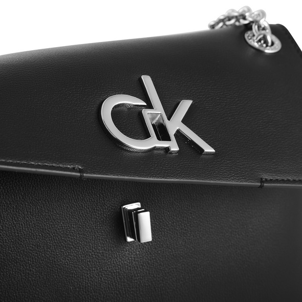 Calvin Klein Abendtasche Re-Lock Conv Crossbody MD black