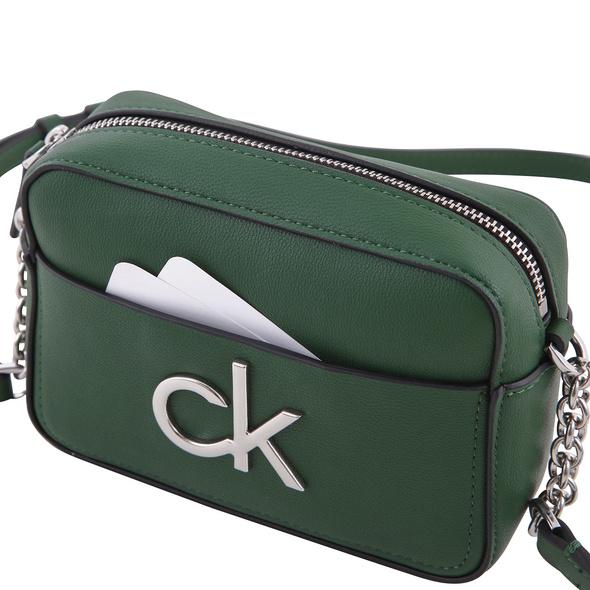 Calvin Klein Umhängetasche Re-Lock Camera Bag deep forest