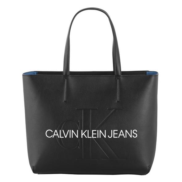 Calvin Klein Jeans Shopper Sculpted Monogram E/W Tote schwarz