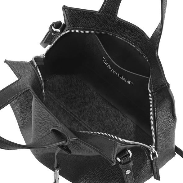Calvin Klein Kurzgriff Tasche Neat Tote MD black