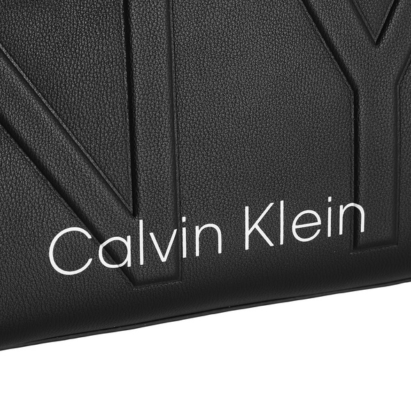 Calvin Klein Kurzgrifftasche NY Shaped Duffle black BDS
