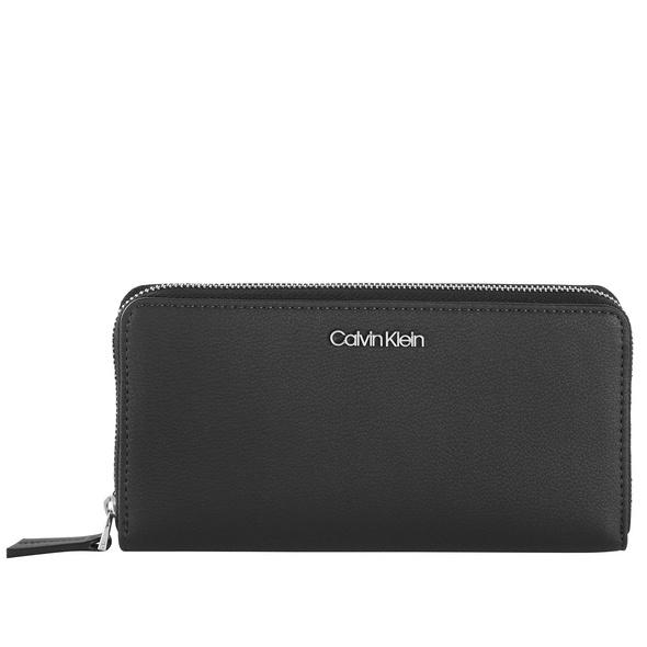 Calvin Klein Langbörse Damen Must Ziparound LG black