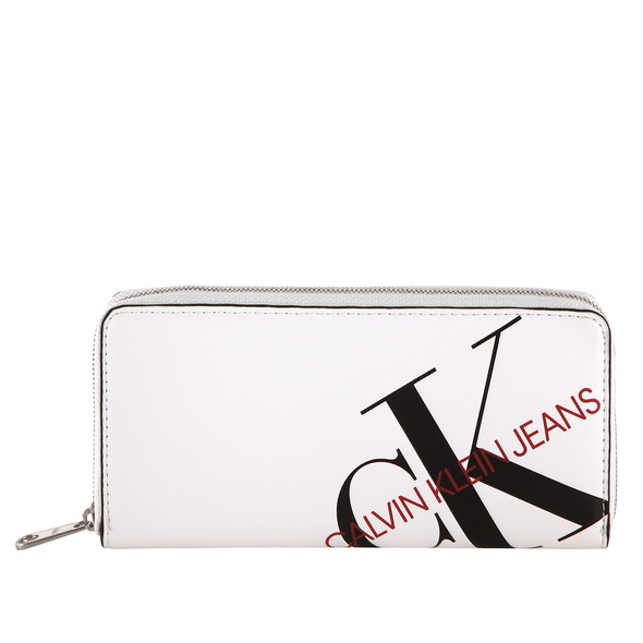 Calvin Klein Langbörse Damen Zip Around Island Punch white