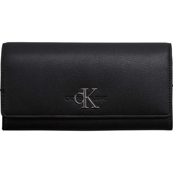 Calvin Klein Überschlagbörse Damen Longfold Wallet black