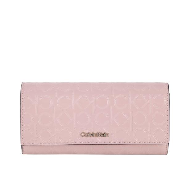 Calvin Klein Überschlagbörse Damen Must EM Trifold LG purple