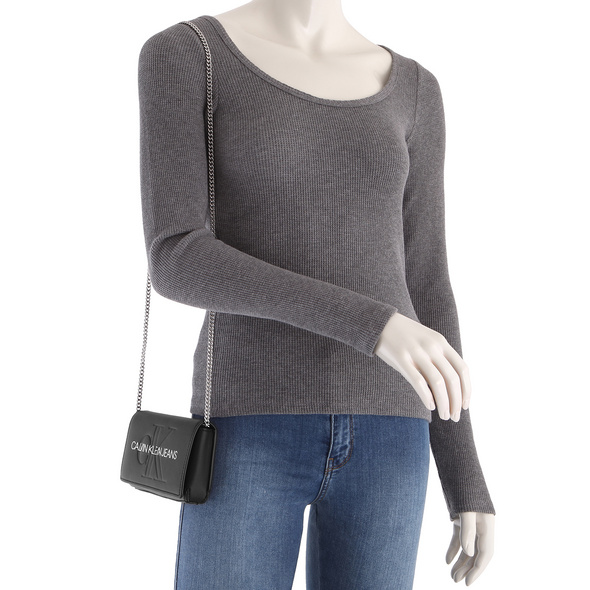 Calvin Klein Jeans Abendtasche Phone Crossbody black