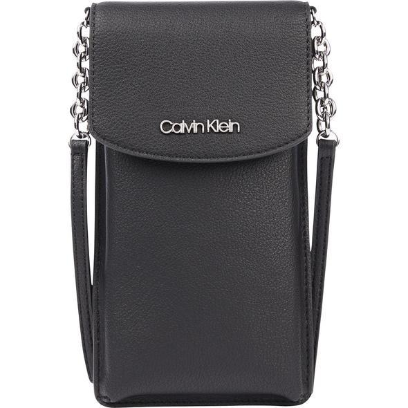 Calvin Klein Umhängetasche Phone Pouch XBody ck black