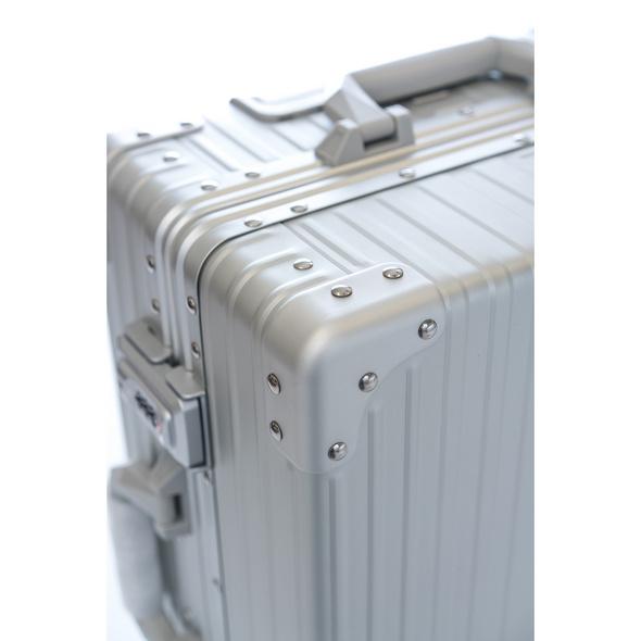 Aleon Reisetrolley Macro Traveler 76cm Platin