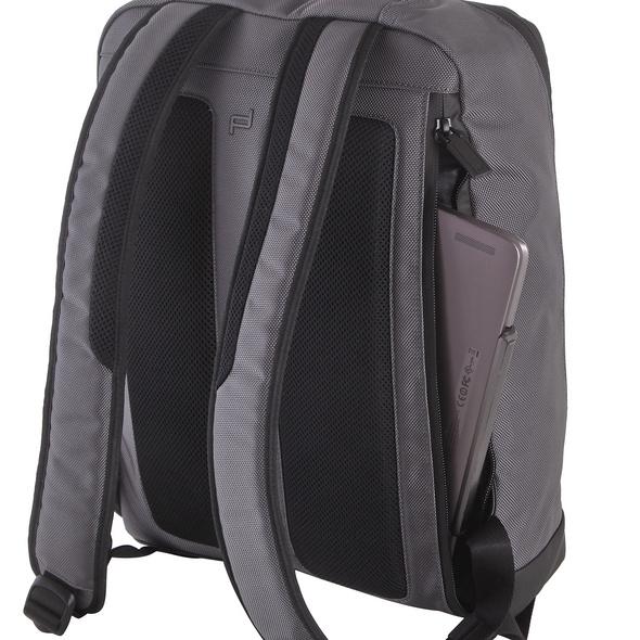"Porsche Design Laptop Rucksack Cargon 3.1 Backpack SVZ 15"" grey"