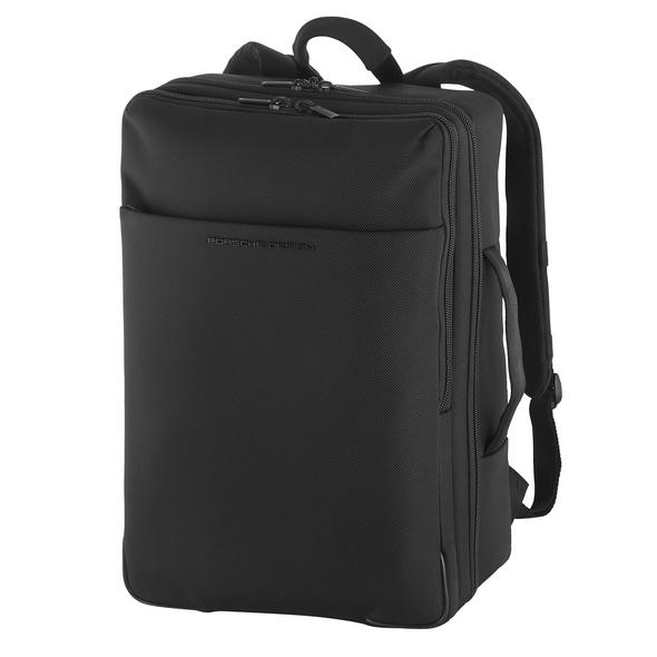 "Porsche Design Laptop Rucksack Roadster 4.0 Backpack SLHZ E+ 15,6"" black"