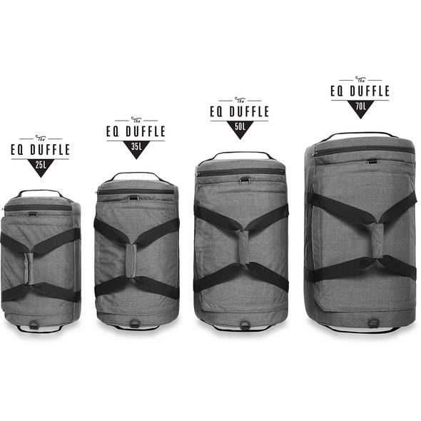 Dakine Reisetasche EQ Duffle L 70l carbon II