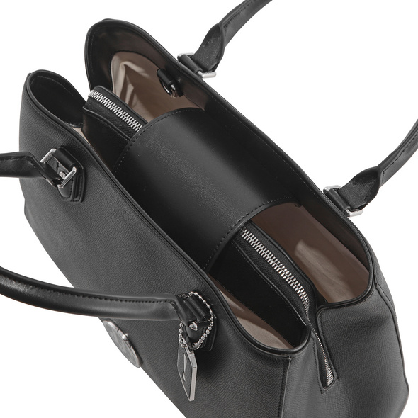 Joop Jeans Kurzgrifftasche Tondo Noelia Handbag mhf black