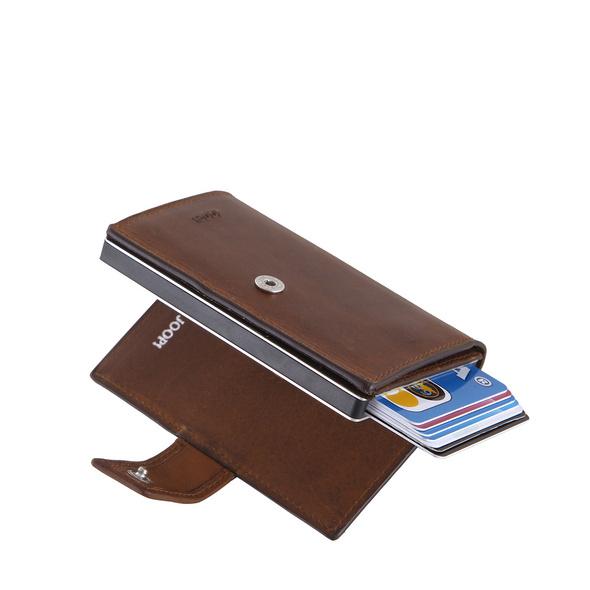 Joop Kreditkartenetui Loreto c-two e-cage sv8f dark brown