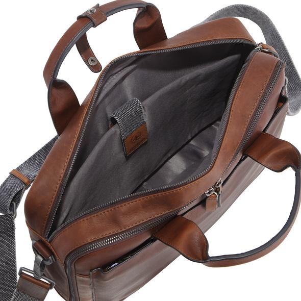 """Strellson Laptoptasche Bond Street Briefbag MHZ 14"""" dark brown"""