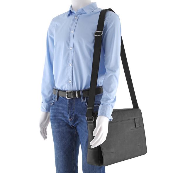 Strellson Messenger Bag Hyde Park MHF black
