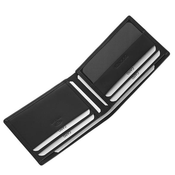 Bogner Kleinbörse Herren Aspen Kolija Wallet SH6 schwarz
