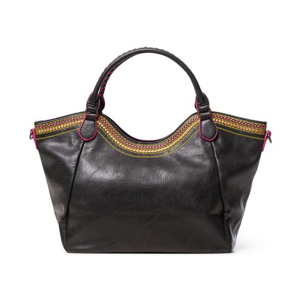 Desigual Shopper Ada Rotterdam dark brown