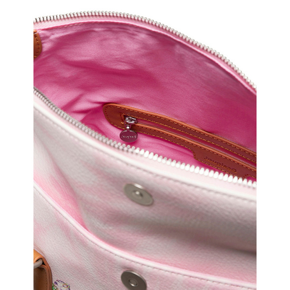 Desigual Shopper Luna Rock Loverty pale pink
