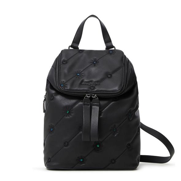 Desigual Damenrucksack Back Ojo De Tigreloen Mini schwarz