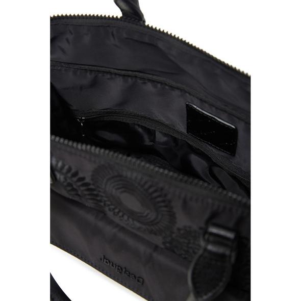 Desigual Shopper Bols Mandarala Padua Pc schwarz
