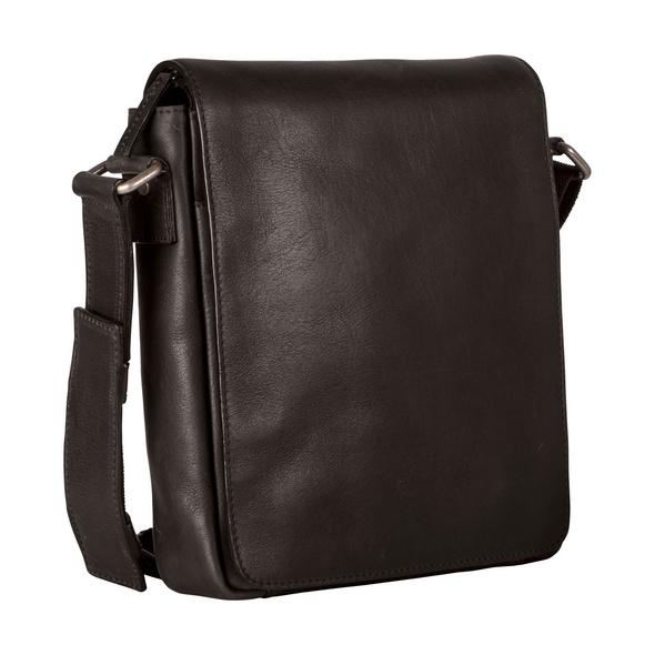Leonhard Heyden Messenger Bag Roma schwarz