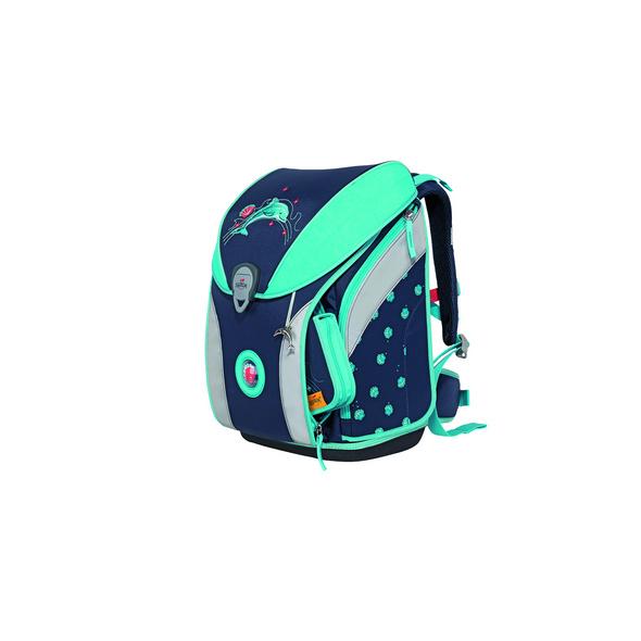DerDieDas Schulranzenset Ergoflex Max 22l glitter dolphin