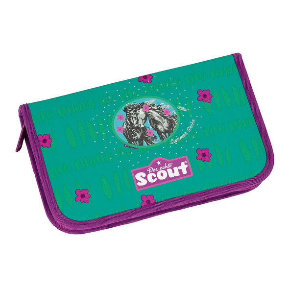 Scout Schulranzen-Set Mädchen Sunny 4tlg. SUMMER  GREEN