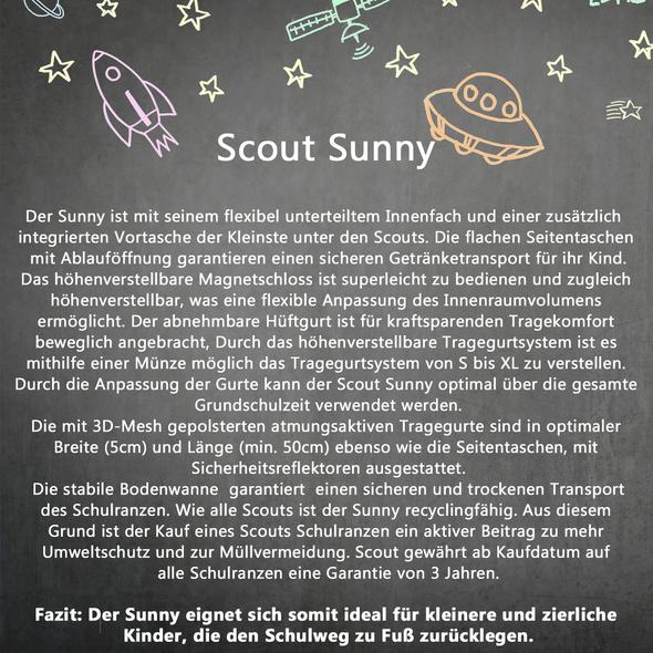 Scout Schulranzen-Set Mädchen Sunny 4tlg. SAVAGE