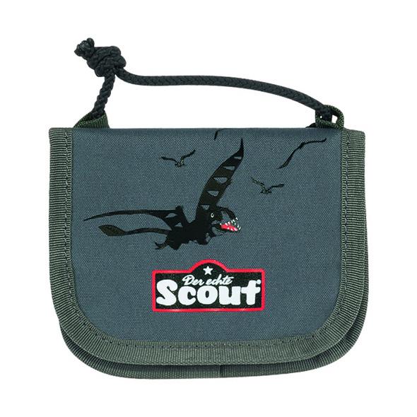 Scout Brustbeutel III Jungen Green Dino