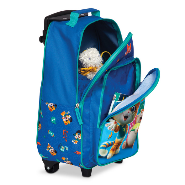 Fabrizio Kinder Trolley 44 Cats 42cm royalblau