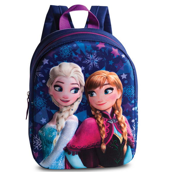 Fabrizio Kinder Rucksack Frozen Anna & Elsa 4l dunkelblau