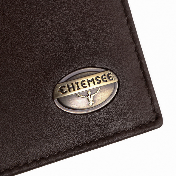 Chiemsee Hochkantbörse 80842 dunkelbraun