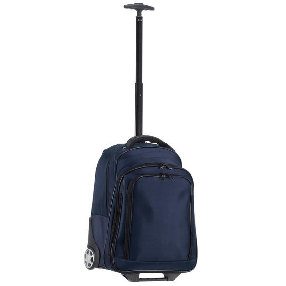 "Dermata Laptop Rucksack Trolley 3444 NY 15"" blau"