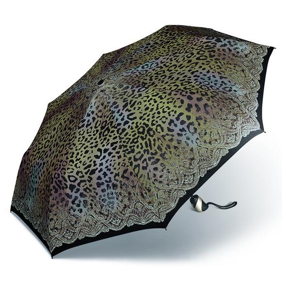 Happy Rain Taschenschirm Easymatic Ultra Light leo lace